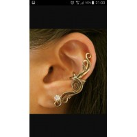 Tour d oreille arabesque et strass