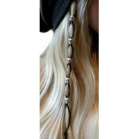 Perles cheveux et barbes crane