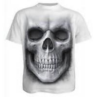 Tee shirt Solemn skull