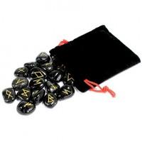 Runes Onyx noir