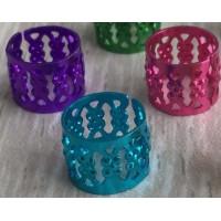 Perles cheveux de couleurs