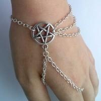 Bracelet sorciere pentagramme
