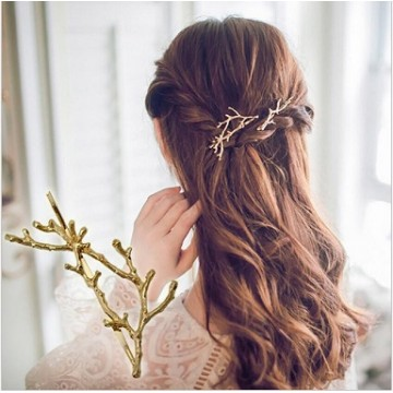 Barrettes branches 2pcs