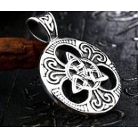 Collier viking triquetra