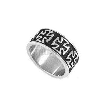 Bague anneau Templier