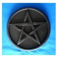 pentacle d'autel noir