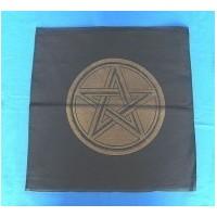 Nappe d'autel avec pentagramme or