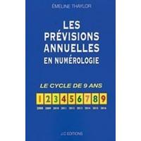 Les prévisions annuelles en numérologie