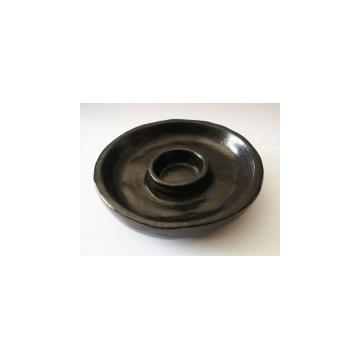 Encensoir en céramique noir