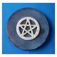 Encensoir en stéatite avec pentagramme