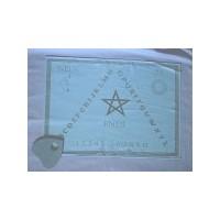 Ouija en coton imprimé