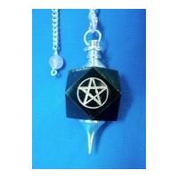 Pendule de pierre présieuse, pentagramme