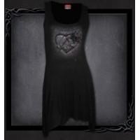 Robe coeur en pierre