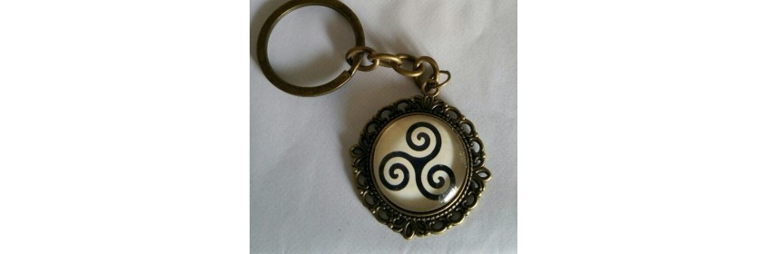 Porte clé triskel