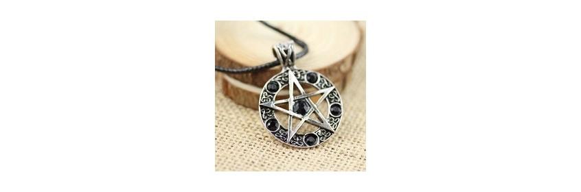 Collier pentagramme