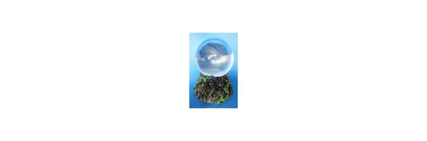 Boules de cristal et supports